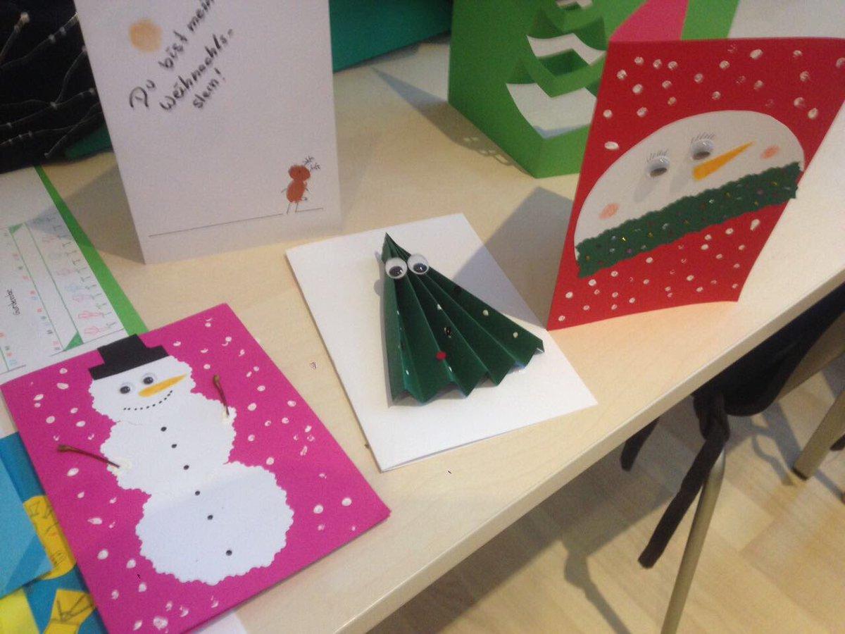 3d Bildung Gmbh On Twitter Selbstgebastelte Weihnachtskarten
