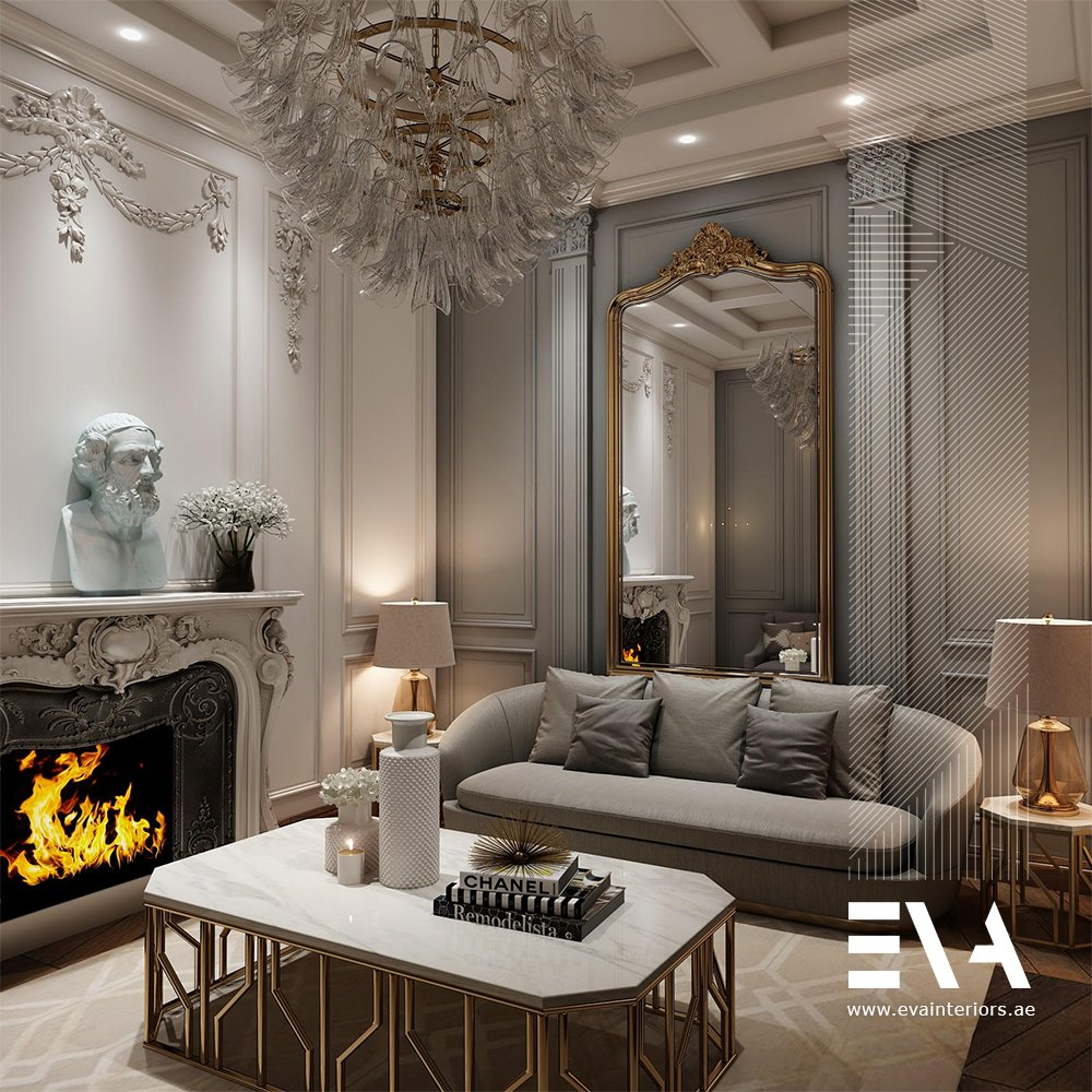 """Gold White Interior Design: Eva Interiors On Twitter: """"Our Favourite Mix Of Style Is"""
