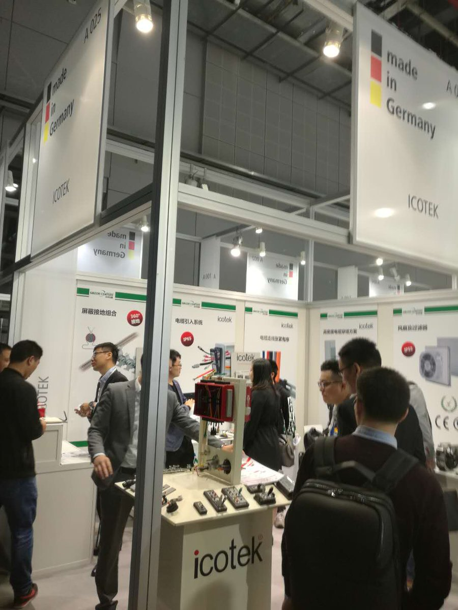 Day4@#IAS #Shanghai: Visit us at booth A025 in hall 5.1 for smart #cable #routing, #sealing &amp; management solutions for your #Industrial #Automation projects, #Machinery &amp; #Robotics<br>http://pic.twitter.com/rperjknY1Z