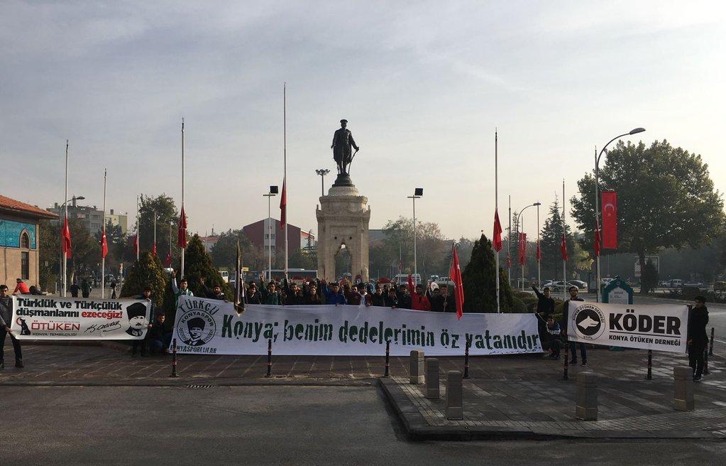 RT @TurkPolisiTC: Türkçü Konyasporlular 'ın #10Kasım etkinliği 👏 https://t.co/V75ILSiHdt