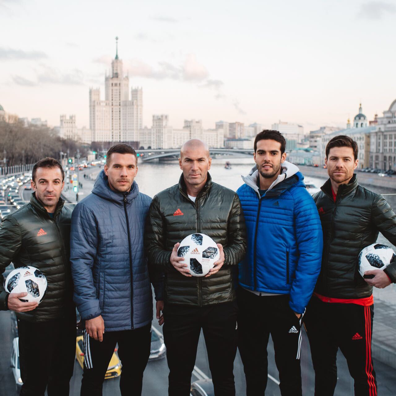 5 World Champions, 3 stripes and one perfect ball. Welcome #Telstar18 ⚽️���� #HereToCreate https://t.co/MOp2Oo7yvl