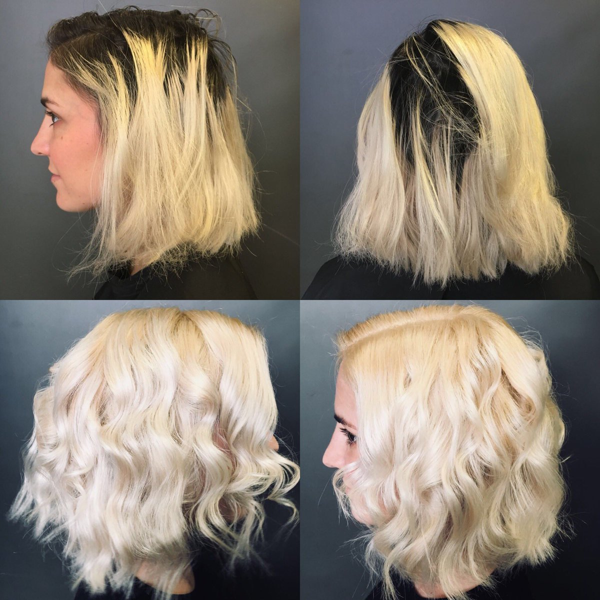 London Hair Academy On Twitter Fabulous Before And After Bleach