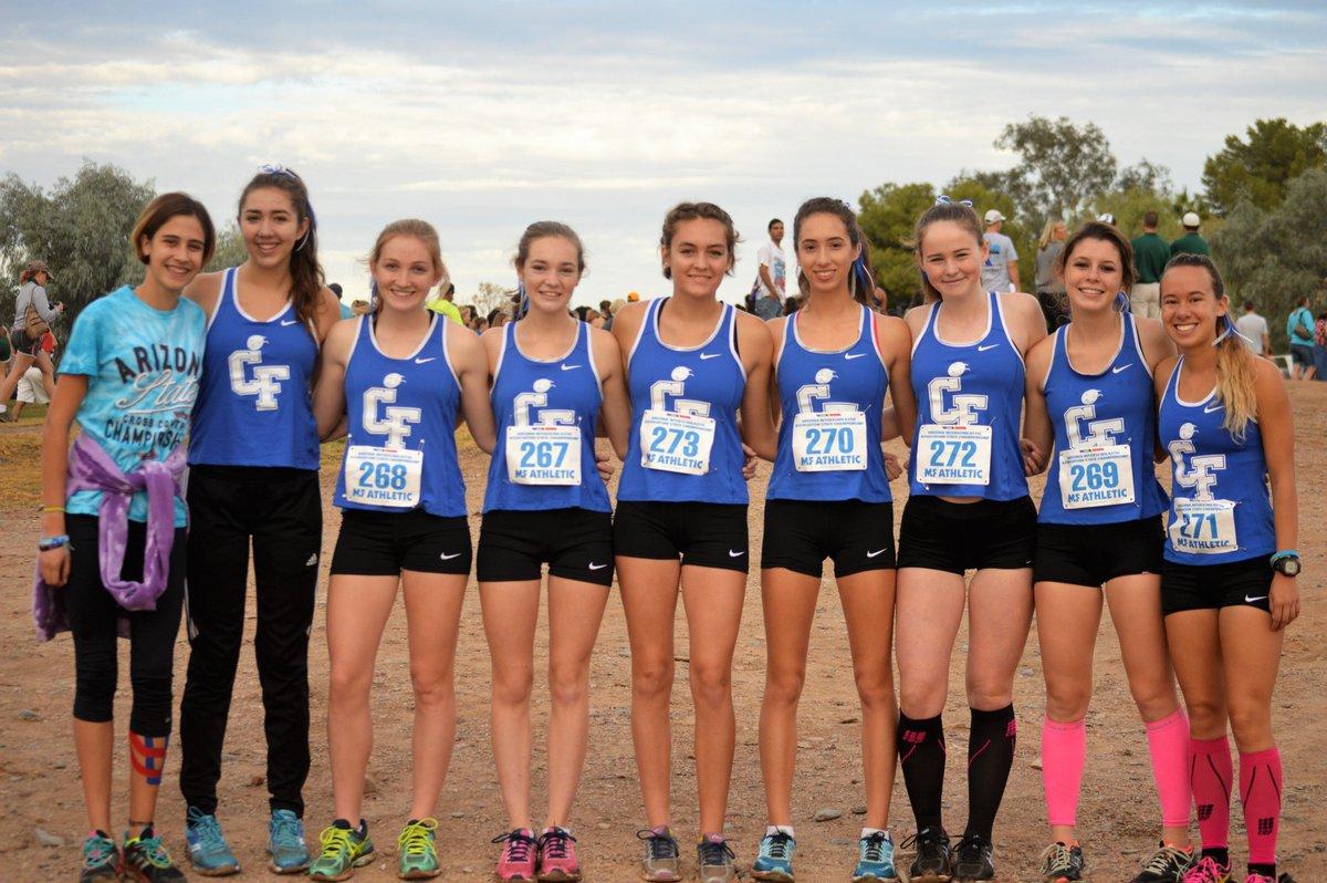 Teen young athlete girls interracial