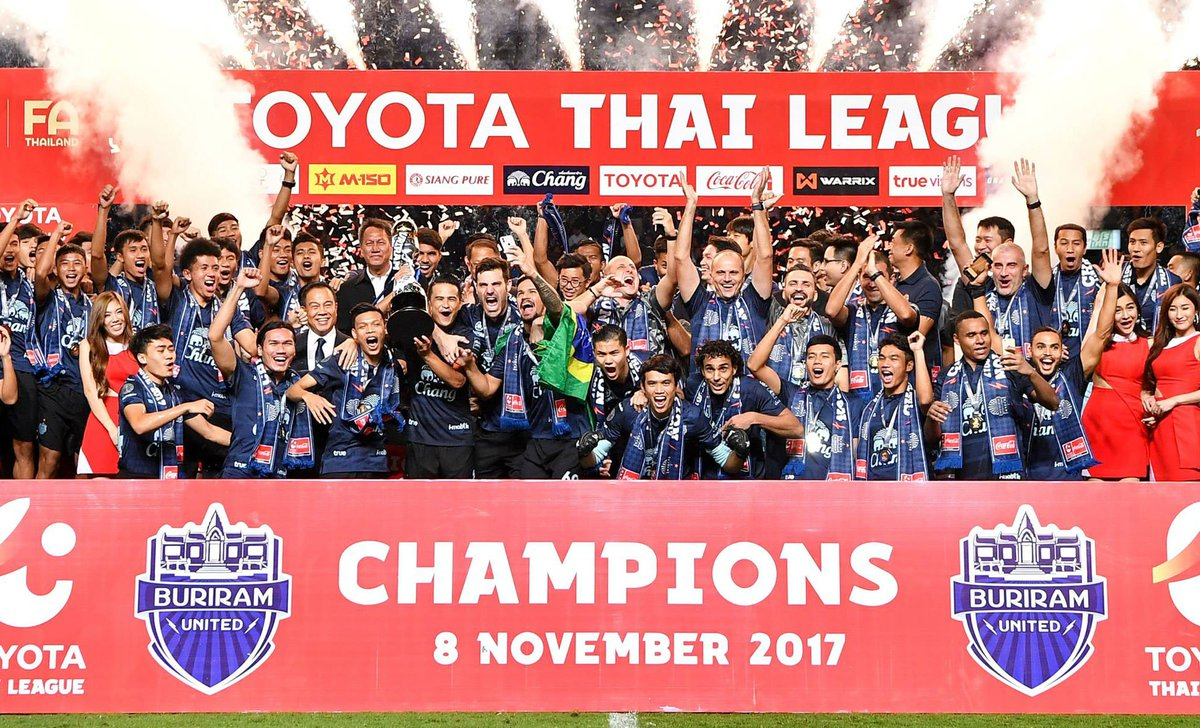 Big congrats to our client Buriram United F.C! They were crowned Thai League T1 champions with two games to spare on Wednesday. #catapultsports #champions #performance<br>http://pic.twitter.com/apVRfXtfpa