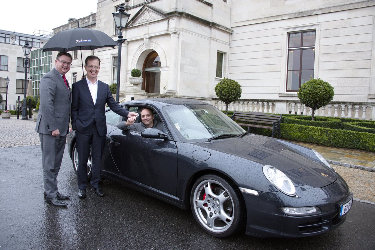 Pieta House On Twitter We Re So Grateful To Radisson Blu And Porsche Club Ireland Whose Raffle With Its Incredible Prize Raised A Life Saving