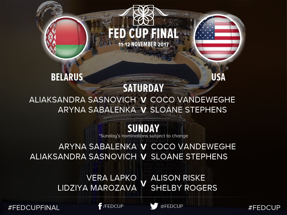 Fed Cup 2017 - Page 6 DOQrdiGXcAAzDxY
