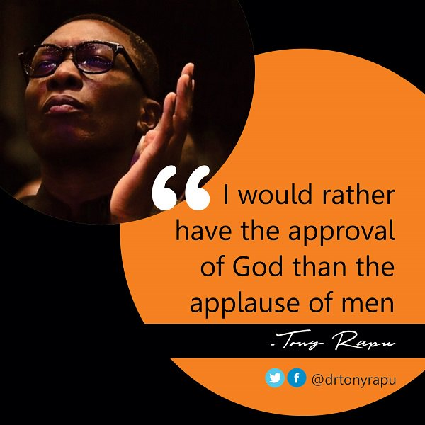 I would rather have the approval of God than the applause of men. #Approval <br>http://pic.twitter.com/RI2dbgg5Ph