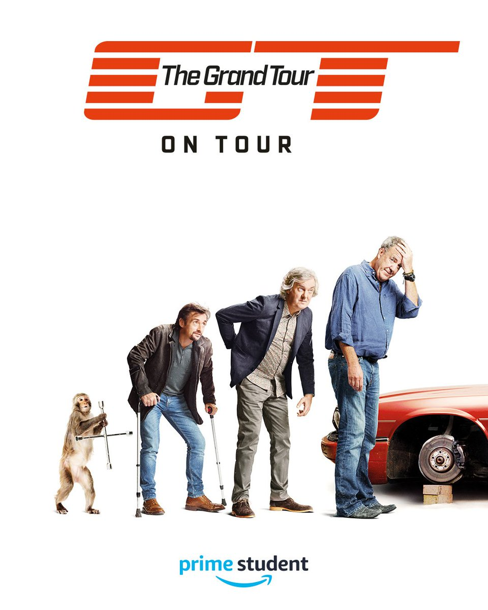 students 39 union on twitter the grand tour on tour is coming to campus today to celebrate the. Black Bedroom Furniture Sets. Home Design Ideas