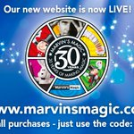 Come see our wonderful new website! 10% off all orders until midnight (GMT) Sunday using code: NEWSITE https://t.co/a5J3v6evs4 #magic #HappyFriday