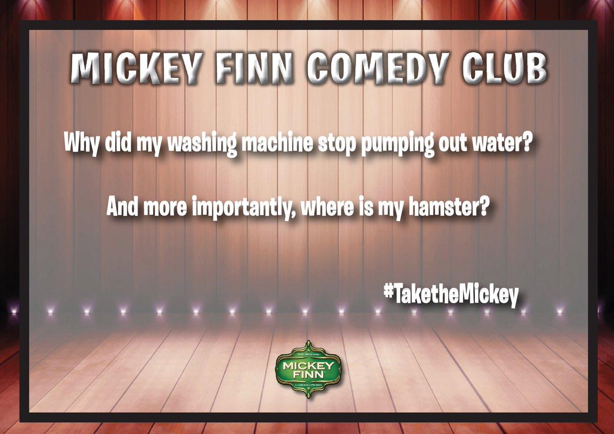 #TaketheMickey #FridayFeeling @ComedyCen...