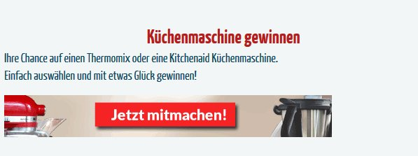 gewinnspiele aktuell on twitter k chenmaschine gewinnspiel kitchenaid thermomix https t. Black Bedroom Furniture Sets. Home Design Ideas