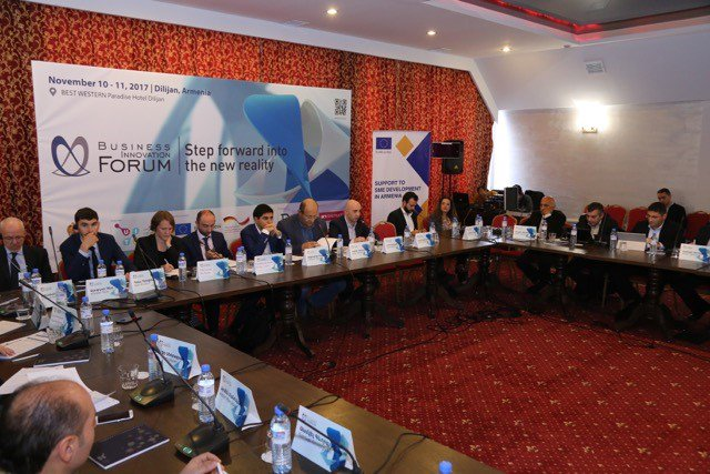 #BIF2017 kicked off today in Dilijan gathering stakeholders to path Armenia&#39;s innovative future #Digtization #InnovationStrategy #HighTech supported by #EU4Business SMEDA @EU_Armenia<br>http://pic.twitter.com/suJ2k00MtN
