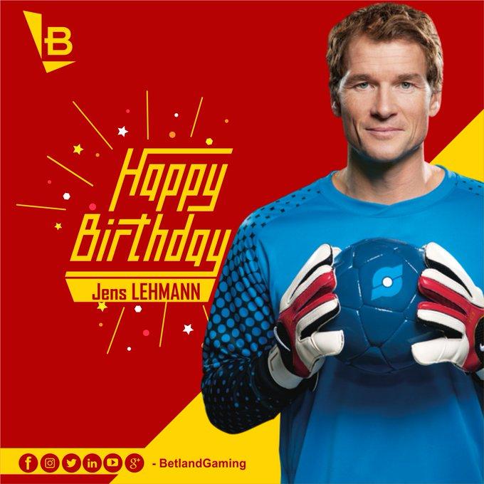 Happy 48th Birthday, Jens Lehmann