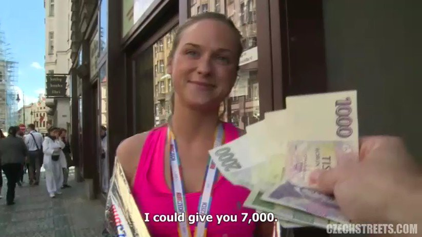 сексуальную продавщицу за деньги посадил машину