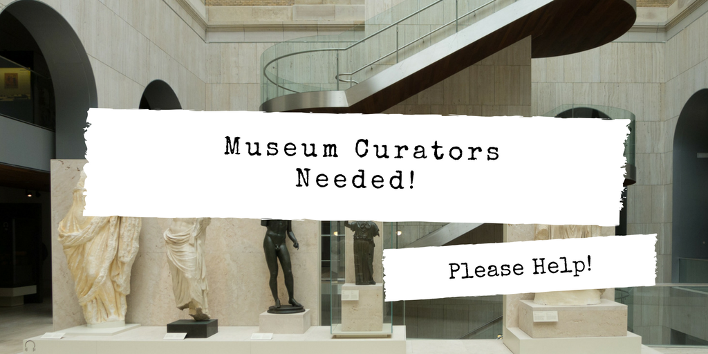 As part of @PCSD_PHS U.S. History class, students create 3D exhibits for a &quot;civil rights event&quot;.We would really like to have a &quot;museum curator&quot; speak to our students before they create.Any curators out their willing to &quot;digitally hangout&quot;? Please help or RT! #askacurator #edchat<br>http://pic.twitter.com/fBjpZG5XWS