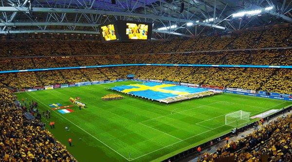 Sverige italien vm playoff friends arena