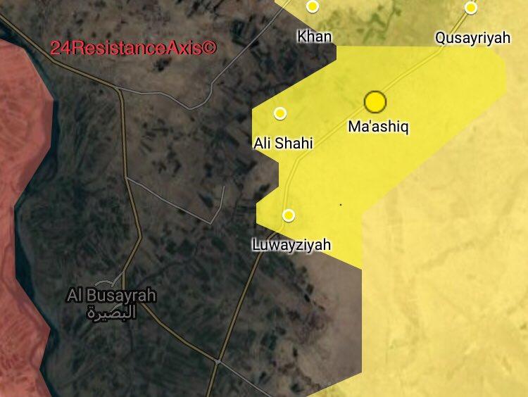 Weiter schwere Kämpfe im Norden von Al Bukamal   Ein Parteibuch