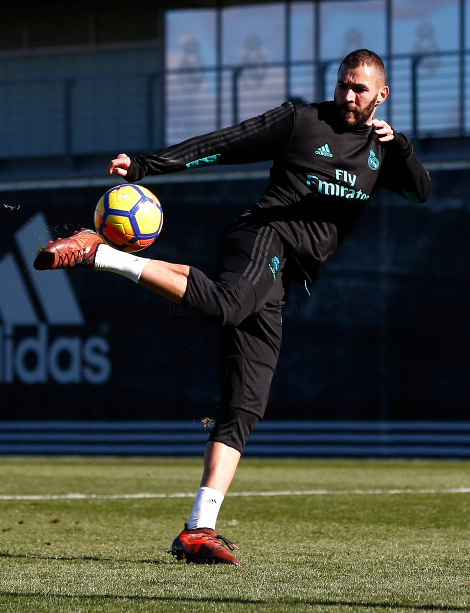 "Karim Benzema on Twitter ""Training today realmadrid KBNueve"