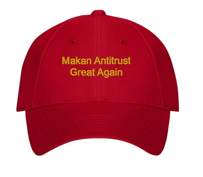 Image result for Makan Antitrust Great Again