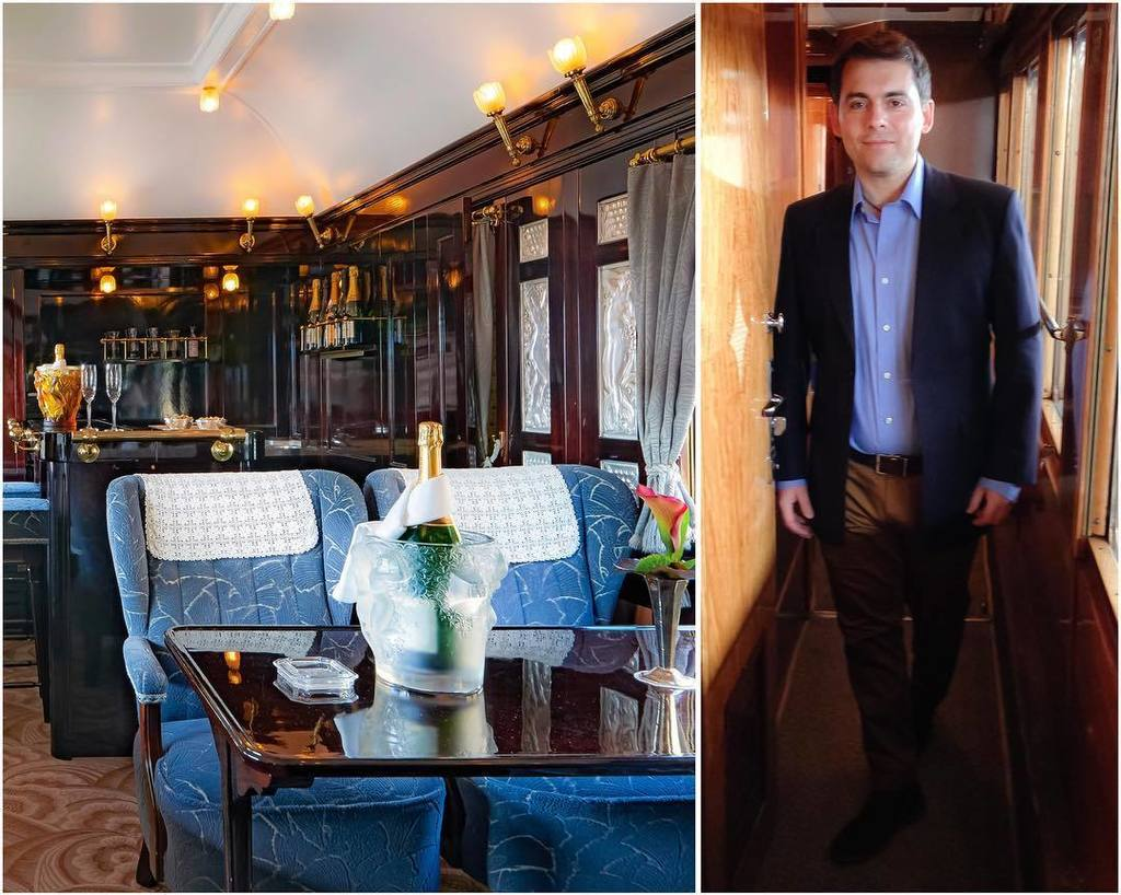 Sample the finest #champagnes in the exclusive #champagne bar aboard the @vsoetrain. #artdeco interiors and #Laliq…  http:// ift.tt/2yqBgqR  &nbsp;  <br>http://pic.twitter.com/9XDkK8KMrv
