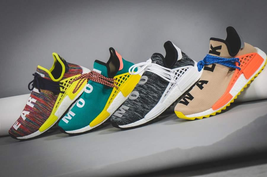 7fc160f85c7bb Replica Pharrell x adidas NMD Hu Trail AC7188 BestPlaceSneakers
