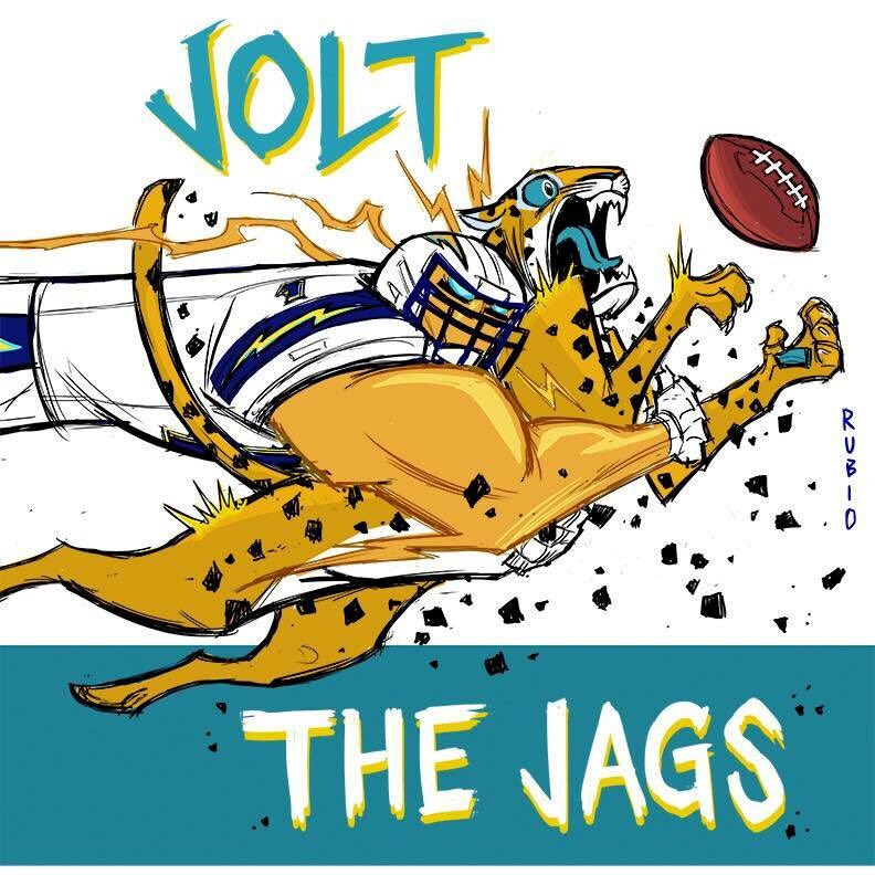"bobby rubio on twitter: ""jolt the jags! @chargers vs jaguars"