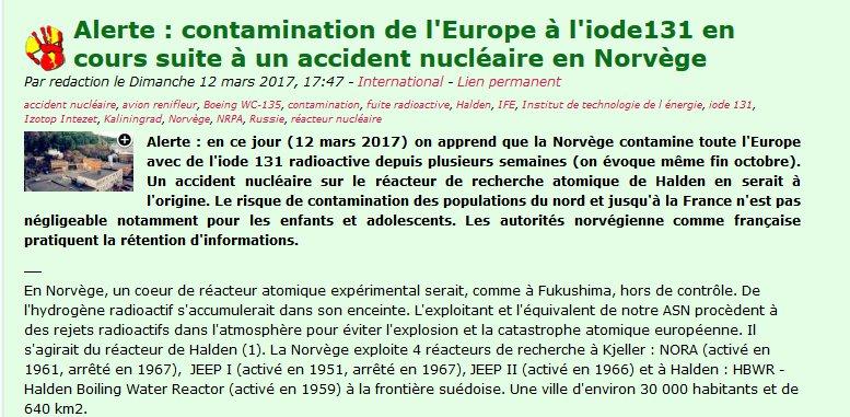 un avis?  #GreenNewDeal double lol... http:// coordination-antinucleaire-sudest.net/2012/index.php ?post%2F2017%2F03%2F12%2FAlerte-%3A-contamination-de-l-Europe-%C3%A0-l-iode131-suite-%C3%A0-un-accident-nucl%C3%A9aire-en-Norv%C3%A8ge &nbsp; …   #GGRMC #BourdinDirect #BFMTV #bfmpolitique<br>http://pic.twitter.com/MlbdDrDaZC