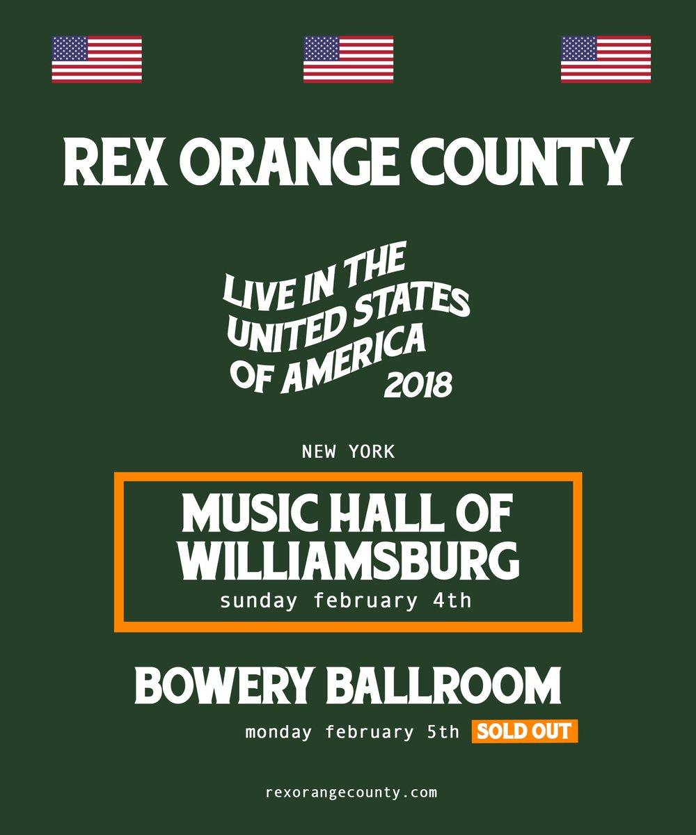 NEW YORK!!!  music hall of williamsburg...