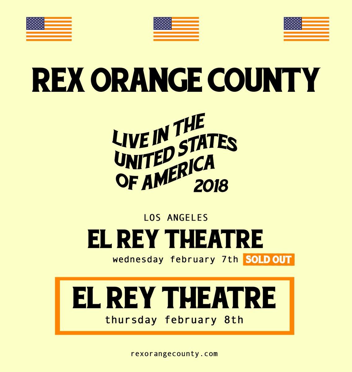 LOS ANGELES  el rey theatre - thursday 8...