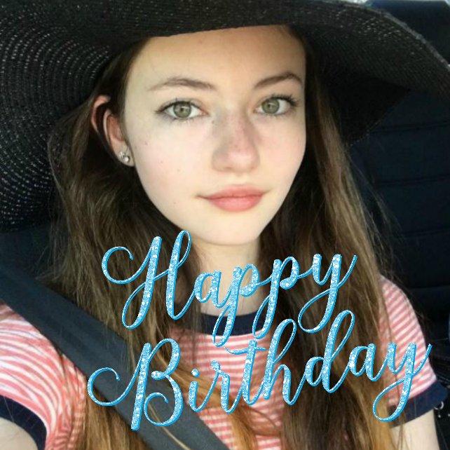 Happy Birthday Mackenzie Foy