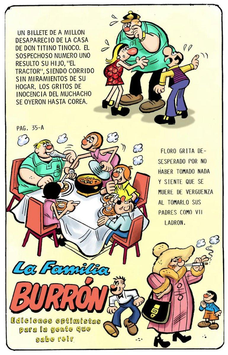 RT @burrones: #QueMeRecuerdenPor las inolvidables historietas de la familia Burron. https://t.co/EMfjmyFwqw