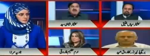 10PM With Nadia Mirza - 10th November 2017 -  Farooq Sattar Ki Chaal thumbnail