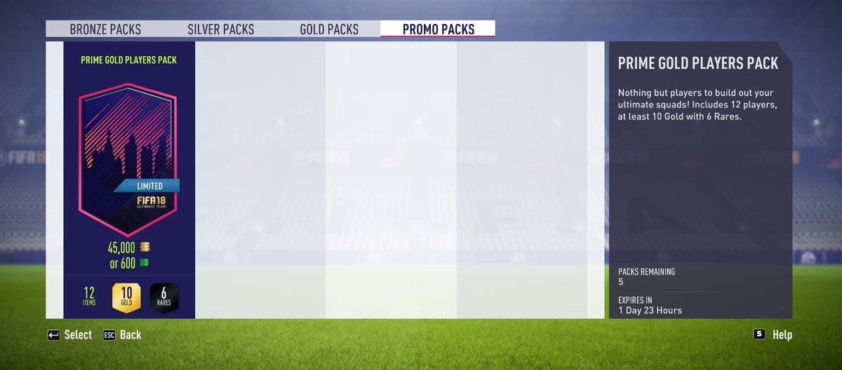 Image result for fifa 19 prime gold players pack