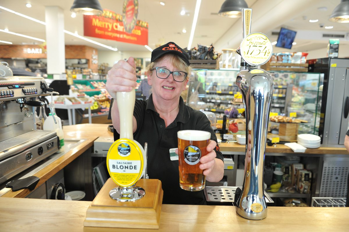 Fancy a pint while you do the food shop? This Yorkshire supermarket now has an in-store bar  https://t.co/0bga6UDyG0