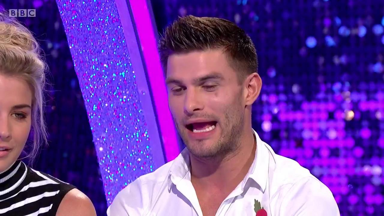 RT @bbcstrictly: He's spotted the strapline again! But will @AljazSkorjanec master his Mancunian accent? 😂 https://t.co/uUQGBalYgk
