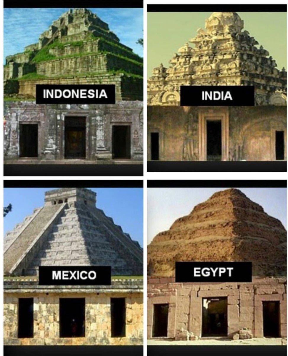 Soru : Neden,benzer yapı farklı medeniye...