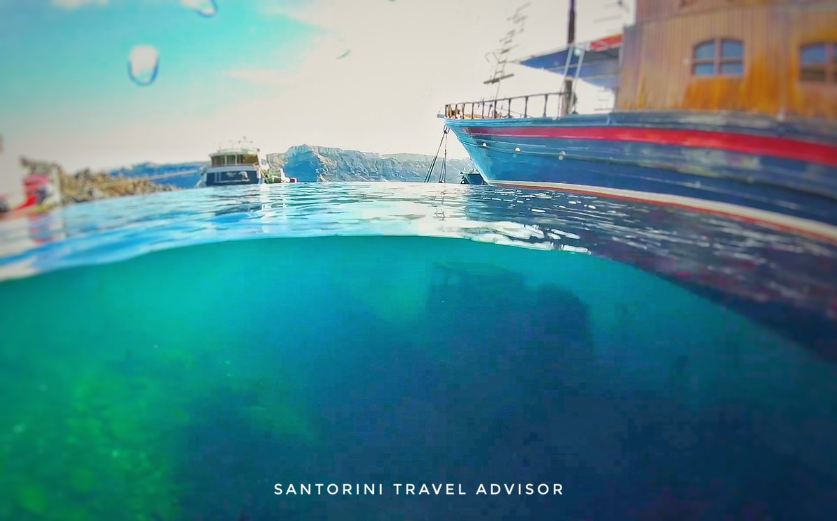 Santorini volcano wreck diving... Video coming in a few hours... make sure you are subscribed to my YouTube channel.  http://www. youtube.com/santorinitravel  &nbsp;   advisor #wreck #santorini #Diving<br>http://pic.twitter.com/Hvty78sn6T
