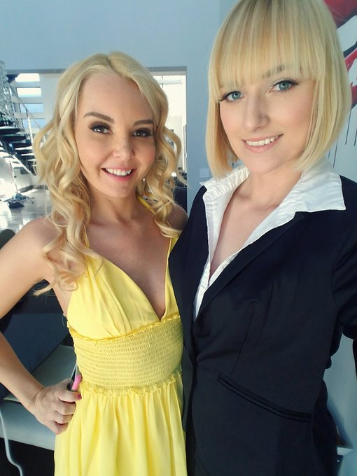 Just got done shooting for @Brazzers #hotandmean with the stunning @AaliyahLove69. It was amazing!!!