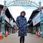 来春、放送朝ドラ「半分、青い。」の撮影が始まり、岐阜に行って来ました!ロケ現場、昭和を再現! pic…