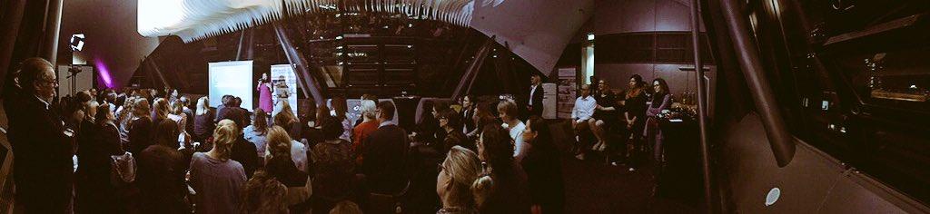 #TEDxWomen Full house, so proud! Danke euch allen für diesen Abend! #Frankfurt @TEDxWomenGLV