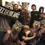 朝マデ@BUZZ_THE_BEARS トモノマネ大会シテマシタ。ツアー初日、松山。ミンナアリガトウネ…