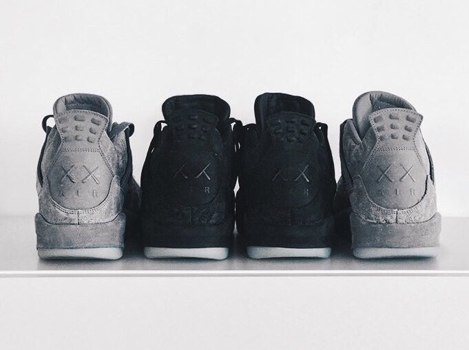 f3501f057f35d7 black kaws x jordan 4 release date is set for cyber monday 11 27