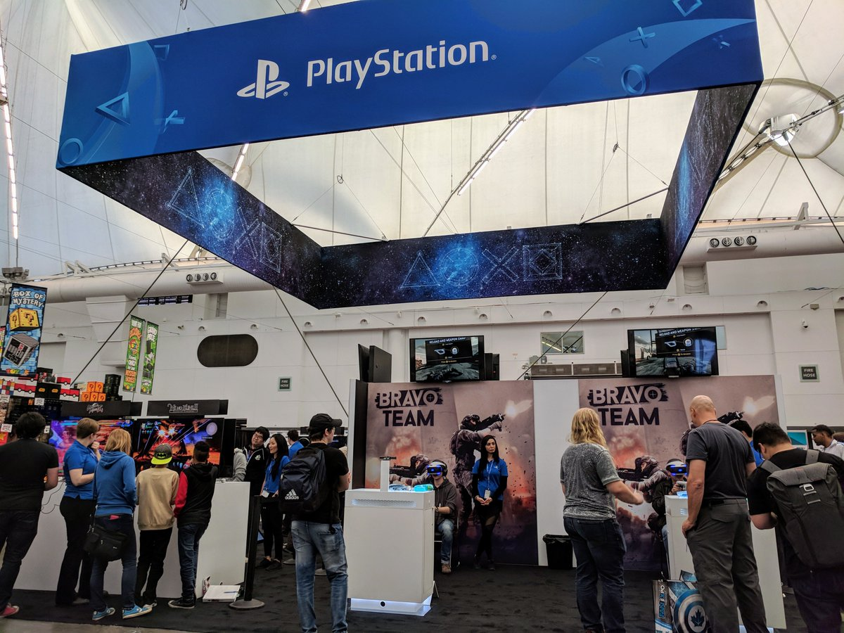 playstation canada on twitter fan expo vancouver kicks off today
