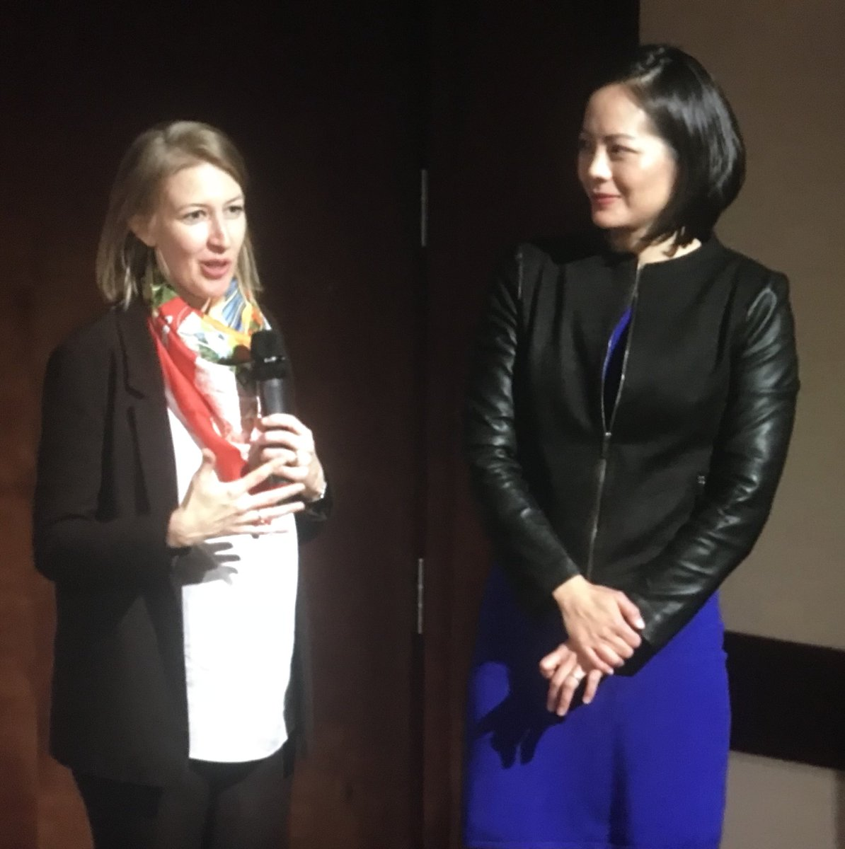 We watched, listened &amp; loved the program. Bravo, everyone! Special shoutout to #VanBiennale artist alumna @vivian_fung! #NewMusic<br>http://pic.twitter.com/6h0DherNs2