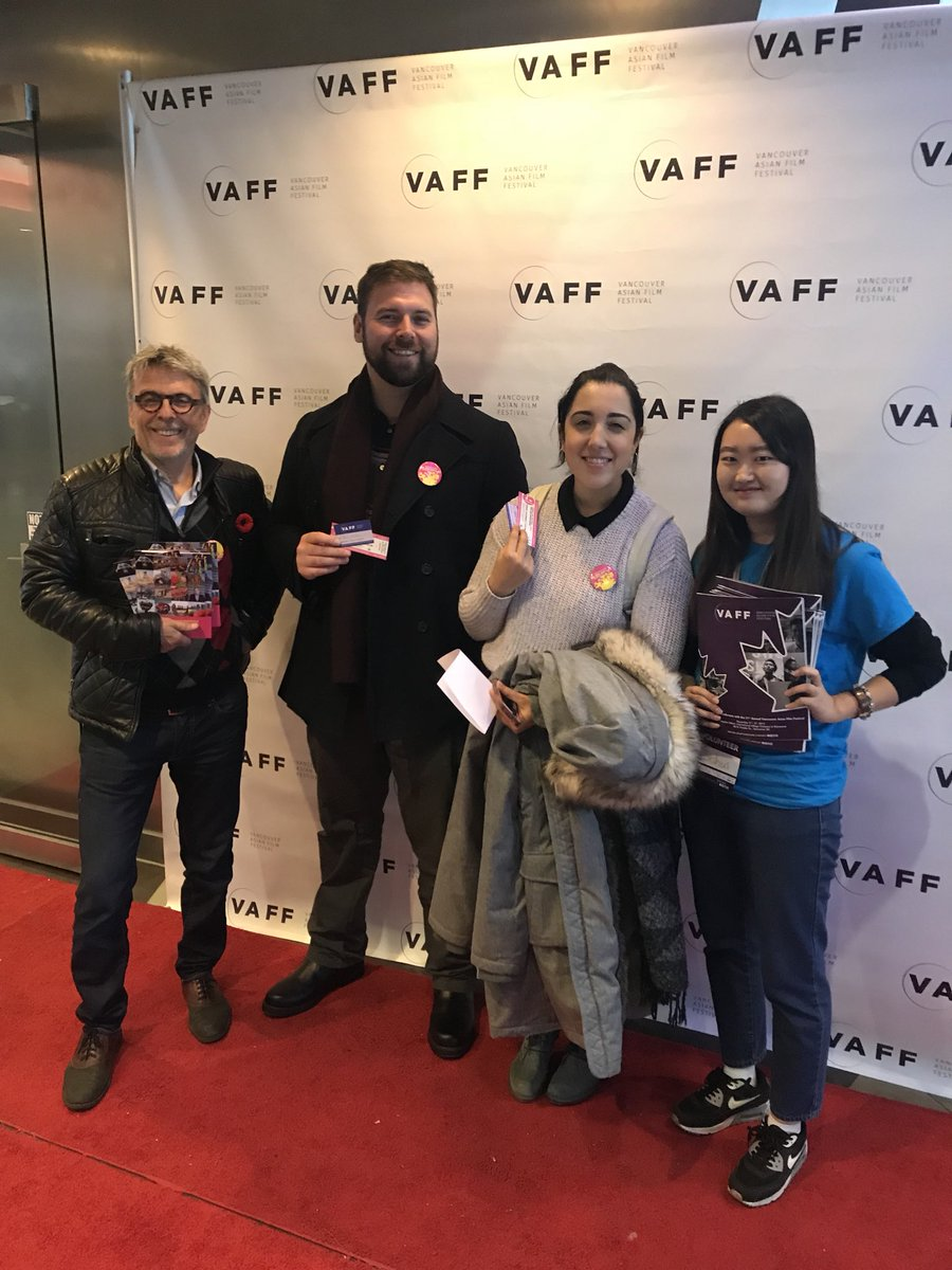 A #VanBiennale team highlight: being on #RedCarpet at this year's @VAFFvancouver! Such pleasure to partner for @atimetoswimdoc screening!<br>http://pic.twitter.com/aGrilB3jCx