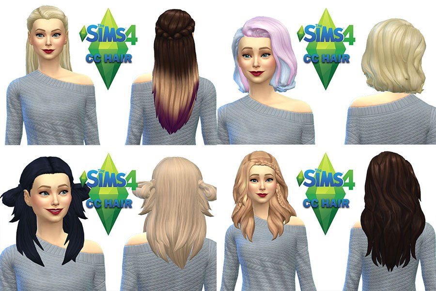 Simartha On Twitter The Sims 4 Cc Hair Maxis Match Https T Co Eljkxdh2w4 Thesims4 Thesims4cc Maxismatch Hair