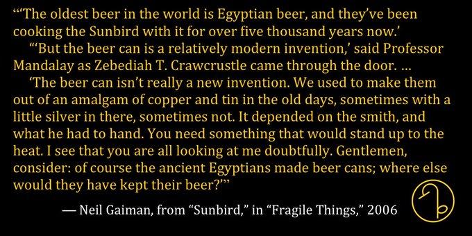 Happy Birthday English author Neil Gaiman (November 10, 1960- )
