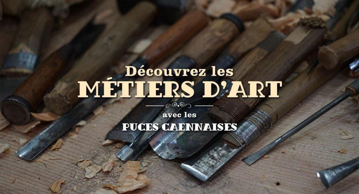 #PucesCaennaises : partez à la découverte des #métiers d'#art avec des professionnels du 24 au 26 novembre au #ParcExpoCaen ! https://t.co/MKuPcGpftn