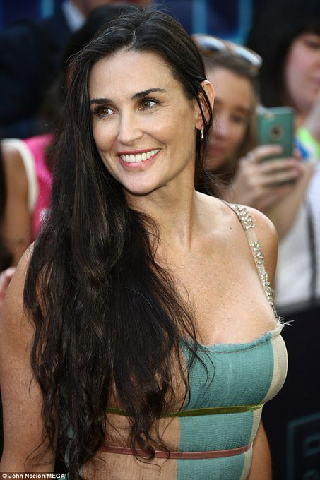 Happy Birthday to Demi Moore who turns 55 today!