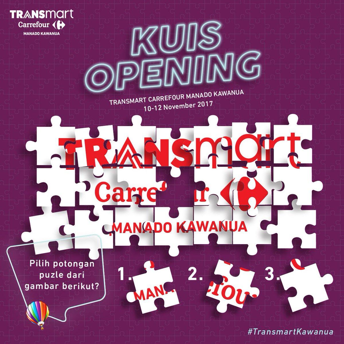 Transmart Carrefour On Twitter Hai Manado Ada Total Voucher 1 Juta 1juta Untuk 20 Sahabat Jawab Kuis Berikut Sertakan Jawabanmu Dgn Transmartkawanua